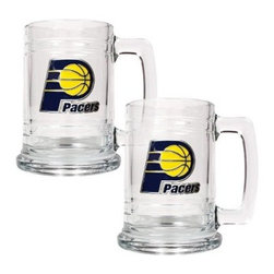 Great American NBA 15 oz. Logo Glass Tankard Set - About Great American ProductsWith beginnings as a belt buckle maker in Texas, Great American products has become the leader in licensed metal emblems and the products that they adorn. With licenses with every major sports league, Great American products a wide range of unique products like drinkware, coolers, and kitchen accessories for the dedicated fan.