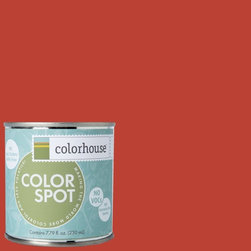 ColorSpot Eggshell Interior Paint Sample, Petal .06,  8-oz - Test color before you paint with the Colorhouse Colorspot 8-oz  paint sample. Made with real paint and in our most popular eggshell finish, Colorhouse paints are 100% acrylic with NO VOCs (volatile organic compounds), NO toxic fumes/HAPs-free, NO reproductive toxins, and NO chemical solvents. Our artist-crafted colors are designed to be easy backdrops for living.