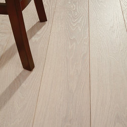 Custom Wide Plank Wood Floors - Custom wide plank wood flooring by Shannon & Waterman. White oak flooring is very heavy, hard, strong, and stiff. It has great wear resistance and is highly durable under great exposure.