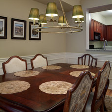Traditional Dining Room by Lugbill Designs