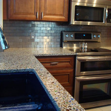 kitchen countertops by Vetrazzo