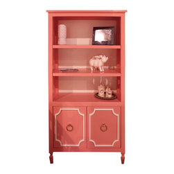 Newport Cottages - Beverly Bookcase - Here's proof that a bookcase can be both timeless and functional at the same time. Show off collectibles and framed photos or house your favorite books on the shelves, plus utilize the storage area below for other belongings.