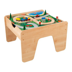 KidKraft Lego-Compatible 2-in-1 Activity Table - If Legos are a big part of your child's life, you might consider a dedicated Lego station. This play table has built-in storage that's perfect for Legos, as well as plenty of surface area for construction.
