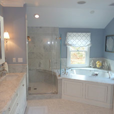 Traditional Bathroom by Nordy's Construction, Inc.