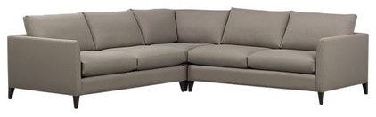 modern sectional sofas by Crate&amp;Barrel