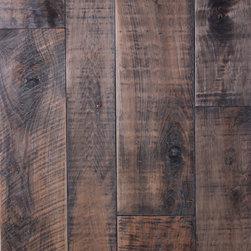Custom Hickory & Maple Wood Flooring - Custom Hickory Wood Flooring