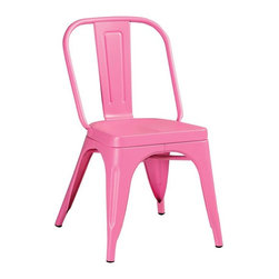 Garden Side Chair - Imagine these surrounding a white table out on the patio, walls dripping with pink bougainvillea and your Uncle is in the kitchen mixing up another batch of fresh strawberry margaritas. See? I told you that you'd like these chairs!