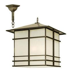 "Meyda Lighting - Meyda Lighting 30"" Sq Tea House Lantern Pendant - -Height: 41""- 167"""
