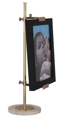 Robert Abbey - Jonathan Adler Bristol Table Easel - Whether you are taking a painting class for fun or work as an artist, this snazzy, marble based table easel will reinforce your confidence. Channel the Great Masters like Rembrandt, Picasso, Pollock or Warhol and get painting!