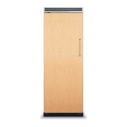 """Viking 30"""" Built-in All-refrigerator, Custom Panel Left Hinge 