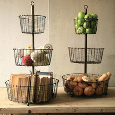 Eclectic Baskets by Iron Accents