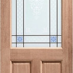 Doors by ABL Doors - Looking for a new hardwood door for your property? Take a look at this Hardwood 2XG Carroll unit from ABL Doors & Windows. The stylised pattern on the glass is etched in fine detail, giving the outside of your home a craftsman touch.