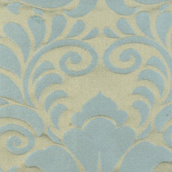 Damask - Aquadisiac Upholstery Fabric - Item #1008961-665.