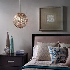 Mediterranean Bedroom by Littman Bros Lighting