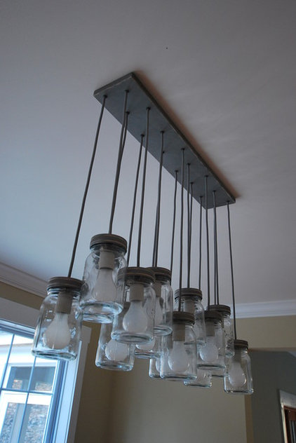 Eclectic Pendant Lighting by Catskill Farms