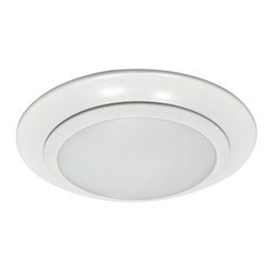 Sea Gull Lighting - Sea Gull Lighting 14600S-15 Traverse Led Recessed in White - 6in Traverse LED Downlight - Retrofit or Ceiling Mount