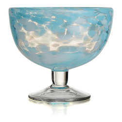 Jay Import Co. - Splash Aqua Set of 4 Ice Cream Bowl - Add elegenace to your home with this set from Fitz & Floyd.