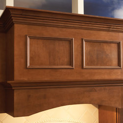 Transitional Wood Hood - When looks and function are vital  - the clean appeal with our transitional wood hood adds a dash of styling without losing valuable storage or wall space and without breaking the bank.