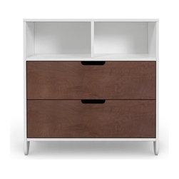 Spot on Square - Spot on Square | Hiya Dresser, Walnut - Design by Spot On Square.