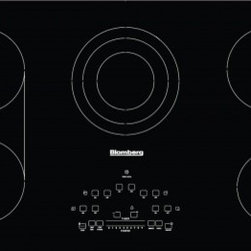 "Blomberg - CTE36500 36"" Smoothtop Electric Cooktop With 5 Radiant Heating Zones  Hot Surfac - This item is for a 36 electric cook top This cook top features slide touch control for power setting low power scale for delicate cooking digital display for power level indication failure codes indication so you know when your cook top has a problem..."