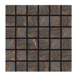 """Energie Ker - Fitch Rainbow Natural 2"""" x 2"""" Mosaic - The Fitch Series features unique Italian full-body porcelain tiles that come in their natural finish. Fitch is rated a V4 high color variation, as the intensity of each shade varies from tile to tile."""