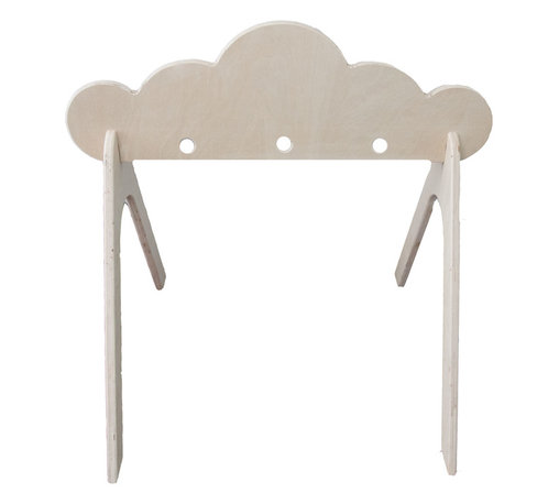 Littles - Wooden Cloud Activity Gym - This listing is for an adorable, durable activity gym for baby.
