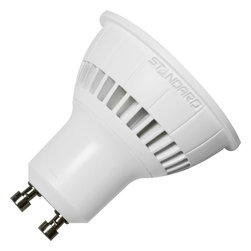 Standard Products - Standard 62472 - 6W 120V GU10 LED Flood, Neutral White, Dimmable - Standard 62472, LED/GU10/6W/FL/30K/38/D. Replaces 35W halogen. Energy Star Qualified.