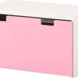 Ebba Strandmark - STUVA Storage bench - Storage bench, white, pink
