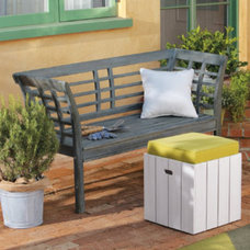 Traditional Outdoor Stools And Benches by Grandin Road