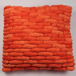 Cobblestone Pillow Orange -