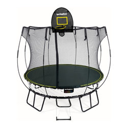 Springfree Trampoline - Springfree® 8ft Trampoline - R54 Compact Round With FlexrHoop and FlexrStep - * World's safest trampoline