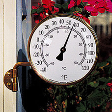 Traditional Decorative Thermometers by northwestnatureshop.com