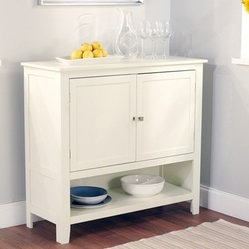 Montego Buffet, Antique White