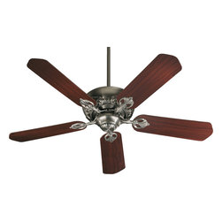 "Quorum International - Quorum 78525-92 52"" 5 Blade Chateaux Fan - As - Quorum 78525-92 52"" 5 Blade Chateaux Fan - As"