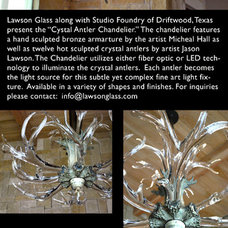 Chandeliers by Lawson Glass