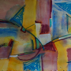 """Tom Hamilton, 1951 - 2011, Watercolor on Paper (114) - 2010 signed watercolor on paper; 29""""w. X 21""""h"""