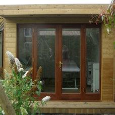 Contemporary Home Office by eDEN Garden Rooms