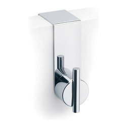 Blomus - Duo Polished Stainless Steel Overdoor Hook - Made of stainless steel, polished finish. Designed by Stotz-Design. 1-Year manufacturer's defect warranty. 1.19 in. L x 3.56 in. H