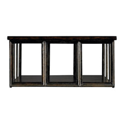 European Farmhouse Art Industriel Coffee Table
