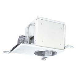 Progress Lighting - P821-FBFC Recessed 6 In. Incandescent Firebox Air Tight Housing - Will maintain up to a one-hour fire rating when installed in a UL L500 series non-IC fire rated floor/ceiling assembly.