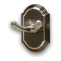 Residential Essentials - Satin Nickel Ridgeview Robe Hook(RE2303SN) - Satin Nickel Ridgeview Robe Hook