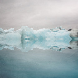 ArtStar - Under the Glacier  11x14  Face mounted - All prints are signed and numbered on a card of authenticity