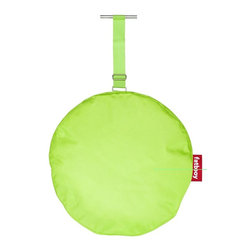 Fatboy - Headdemock Pillow in Lime Green - Protective coating for dirt and moisture resistance. Filled with chopped foam for the perfect soothing neck support. Easy to clean with lukewarm water and neutral soap. Made from very flexible and high quality polyester. 22 in. Dia. x 3 in. H (2 lbs.)For all you headdemock owners, Im here to help nourish your body by pampering your head like an Asian neck masseuse. Attaching me to the Headdemock is easy as holding hands. By the way, in case youre wondering. Your eyes are reading this all correctly. My name for this soothing softness is Pillow! No typo! For some normal reason, I didnt get a crazy name like my other family members. So no Cushy the Fluffy or Pillow, just Pillow! Thank you, youre welcome!