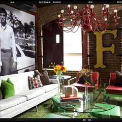 eclectic living room by decordemon