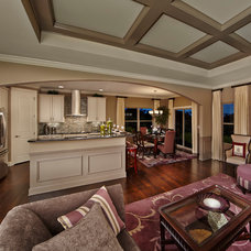 Traditional Family Room by Pinnacle Homes