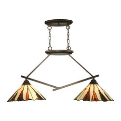 Dale Tiffany - Dale Tiffany TH12435 Ripley Modern / Contemporary Kitchen Island Light - Dale Tiffany TH12435 Ripley Modern / Contemporary Kitchen Island Light