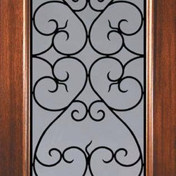 "Slab Entry Single Door 80 Wood Mahogany Palermo GBG 3/4 Lite - SKU#    L08662WPBrand    GlassCraftDoor Type    ExteriorManufacturer Collection    3/4 Lite Entry DoorsDoor Model    Palermo GBGDoor Material    WoodWoodgrain    MahoganyVeneer    Price    975Door Size Options    36"" x 80"" (3'-0"" x 6'-8"")  $0Core Type    Door Style    Door Lite Style    3/4 LiteDoor Panel Style    Home Style Matching    Door Construction    LegacyPrehanging Options    SlabPrehung Configuration    Single DoorDoor Thickness (Inches)    1.75Glass Thickness (Inches)    Glass Type    Double GlazedGlass Caming    Glass Features    TemperedGlass Style    Glass Texture    Clear , RainGlass Obscurity    No Obscurity , Highest ObscurityDoor Features    Door Approvals    Wind-load Rated , FSC , TCEQ , AMD , NFRC-IG , IRC , NFRC-Safety GlassDoor Finishes    Door Accessories    Weight (lbs)    248Crating Size    25"" (w)x 108"" (l)x 52"" (h)Lead Time    Slab Doors: 7 daysPrehung:14 daysPrefinished, PreHung:21 daysWarranty    One (1) year limited warranty for all unfinished wood doorsOne (1) year limited warranty for all factory?finished wood doors"