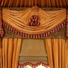 Traditional Curtains by Interiors by Mary Susan
