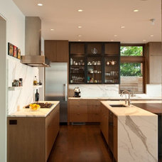 Architecture. Contemporary Washington Park Hilltop Residence with Wood Accent: W