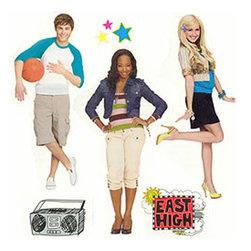 Store51 LLC - High School Musical Wall Stickers HSM - Girls Wall Decals - Features: